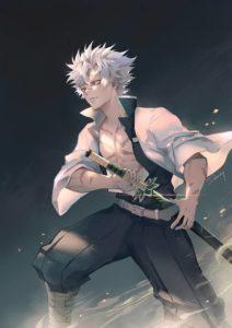 Demon Slayer Sanemi Shinazugawa Cosplay